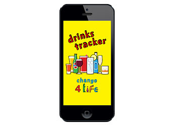 Drinks tracker for iPhone and Android